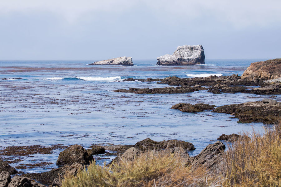 Beach Beach Life California Dreaming Coastline Landscape Landscape_photography Mountians Nature No People Ocean Outdoors Pacific Ocean Rule Of Thirds Salt Life Waves, Ocean, Nature