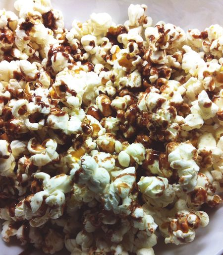 Chocolate drizzled popcorn. Popcorn Chocolate Drizzled Snack Chocolate Covered Crunchy Delicious Food Sweet