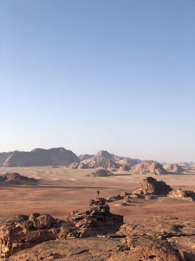 Wadi rum -jordan mountains