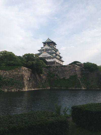 大阪城 大阪城 大阪 Castel OSAKA Japan 日本