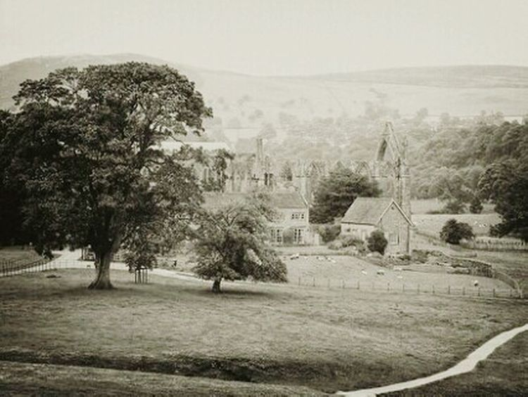 Bolton Abbey Black And White Old Photo Effects