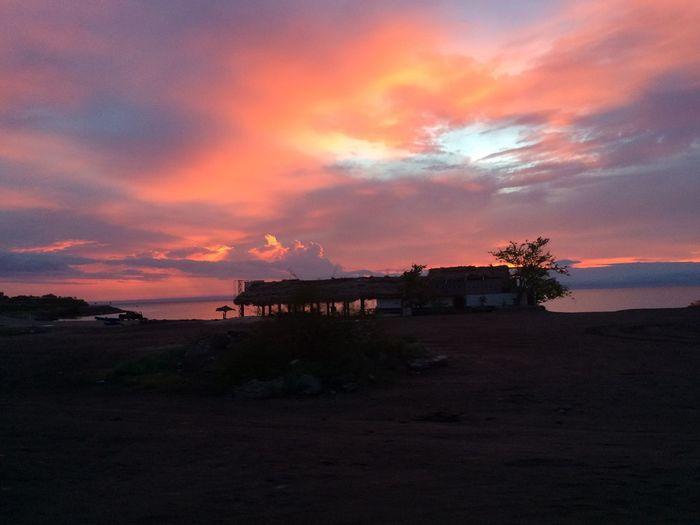 Sunset Atardecer Bahia La Paz