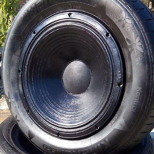 Kerékhangszóró :) (jól vagyok) Sound Subwoofer  Wheel Carwheel Whoofer