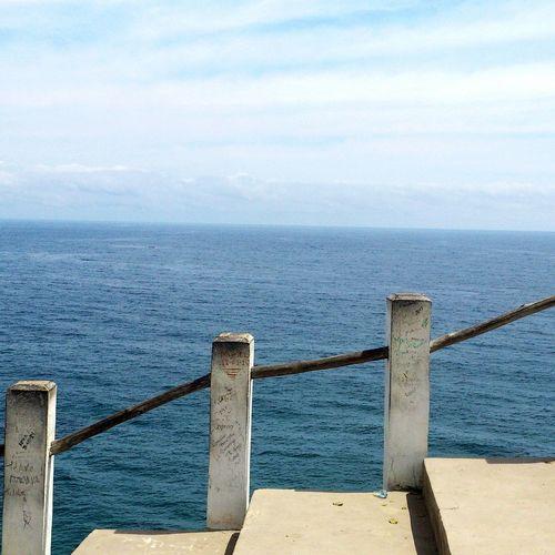 Es estar en la cima y ver la grandeza del mar. Así es mi Venezuela Beach Beachphotography Life Is A Beach Venezuela Choroni_Vnzla Choroni