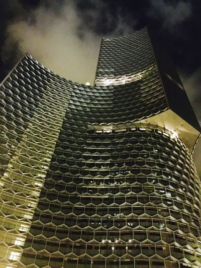 The Architect - 2017 EyeEm Awards Architecture Low Angle View Modern Building Exterior Architecture Honeycomb Commercial Building, Residential Building High Rise Building Proud To Be Our Project Duo