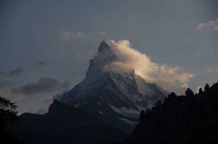 Zermatt Matterhorn  Nature Mountain Switzerland Alps Pentax K5ll Vallis Swiss Mountains Swiss Alps Cervino Beauty In Nature Mountain Peak Mountains And Sky Mountain View The Great Outdoors - 2017 EyeEm Awards