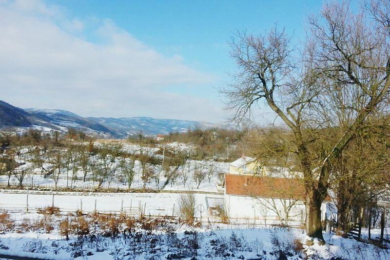 Zima!!😍 Inverno Freddo Sneg White House Memories 2K15 Winter Neve Cold