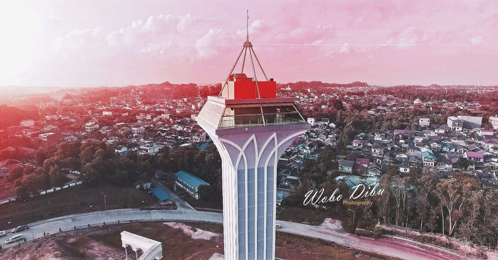 Islamic Center Balikpapan Drone  Dji Phantom 3 Pro Photography