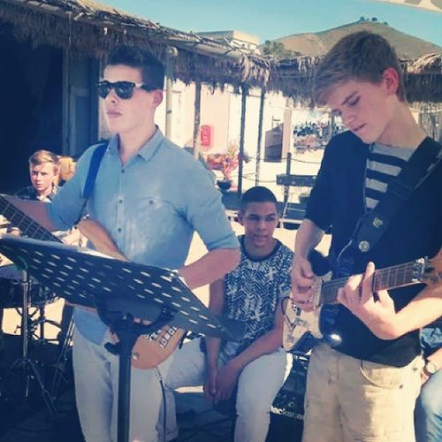 Throw back to this beautiful gig . TBT  Gig Grandcafe Beach waterfront