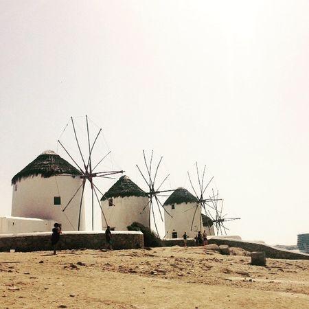 Windmill Greece Mykonos