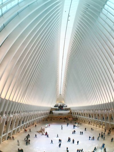 Oculus Crowd Group Of People Large Group Of People Real People Built Structure Travel Destinations Modern Ceiling