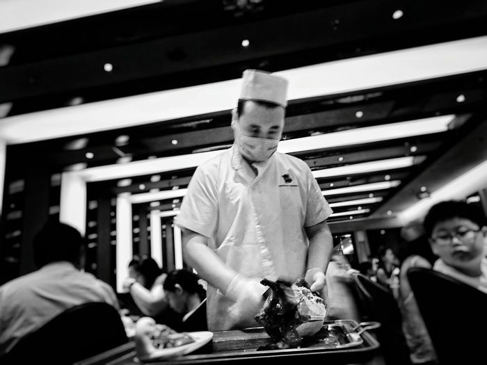 It's been a long time Dim Sum Peking Duck Foodporn Chinese Food B&W Collection