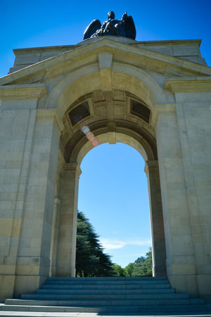 Arch Architectural Feature Architecture Built Structure Clear Sky Historic History Military Museum Monument Old Sculpture The Past Travel Destinations