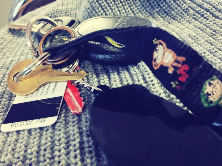 After 14 months together, I still have the keychain he gave me <3