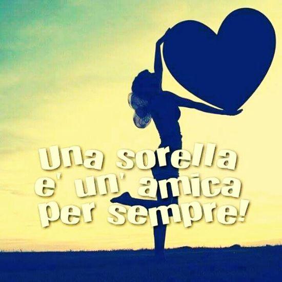 Ti Amoo Sorellina ❤❤