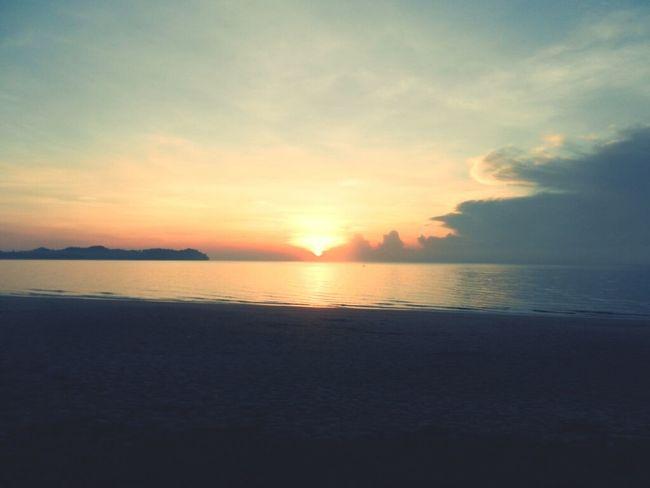 Beach Sunrise Clouds And Sky Hello World