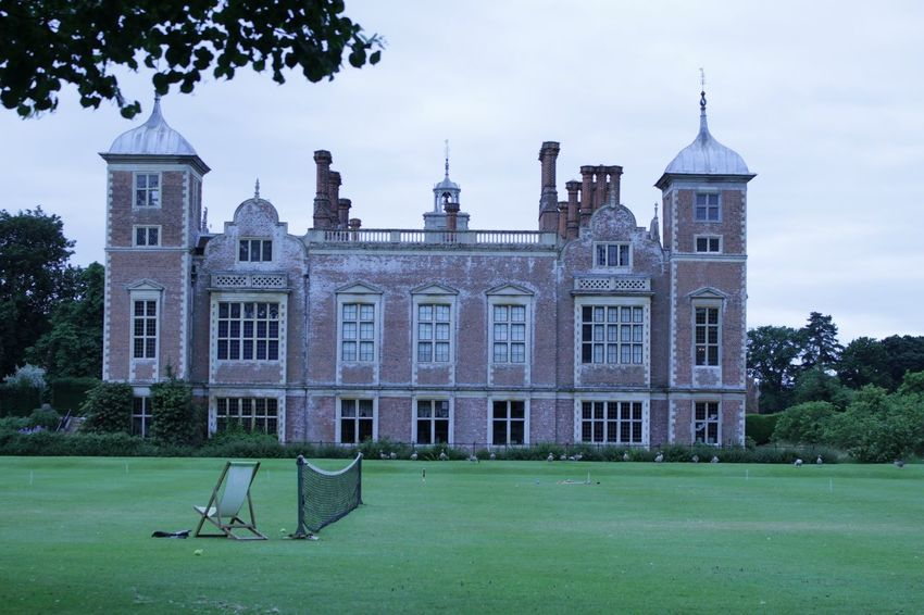 Blickling Estate National Trust Norfolk Blickling Hall Stately Home Ntblickling Grass Outdoor Photography Trees Lawn Tennis 🎾 Croquette Geese Birds Deck Chair Tranquil Scene Tranquility Typically British English Garden