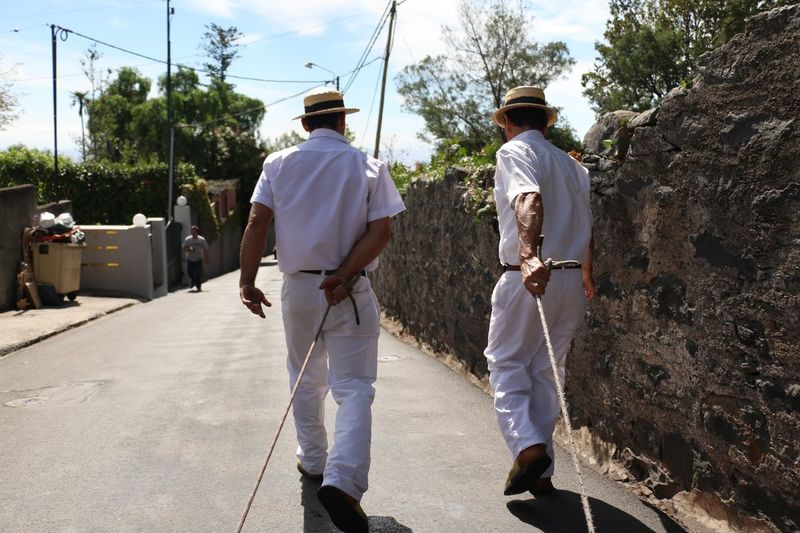 Rear View Only Men Adults Only Full Length Men Outdoors Day Adult People Young Adult Sky Cowboy Hat Eye4photography  EyeEm Best Shots - Nature EyeEm Gallery EyeEm Nature Lover EyeEm Best Shots Madeira Funchal Beauty In Nature Bestoftheday