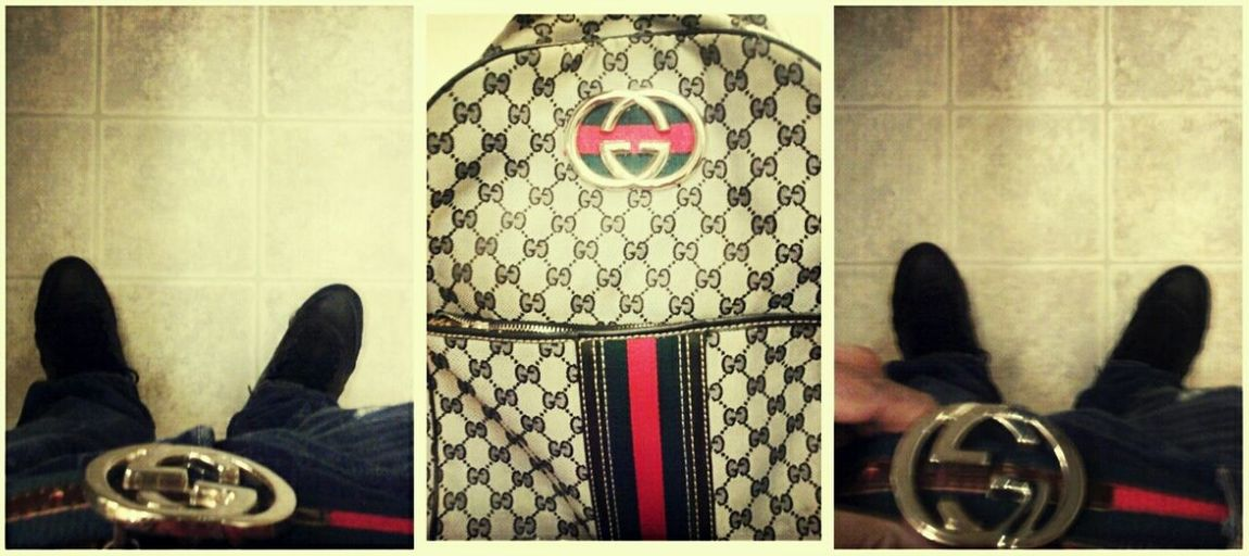 Gucci Belt N Gucci Hand Bag N Sum Retro 7's