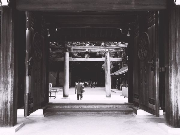 Meiji-Jingu Temple Nature Japan