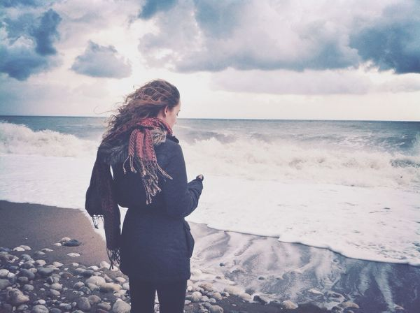 Beach Seaside Stormy Weather Skrill IT Far From Home