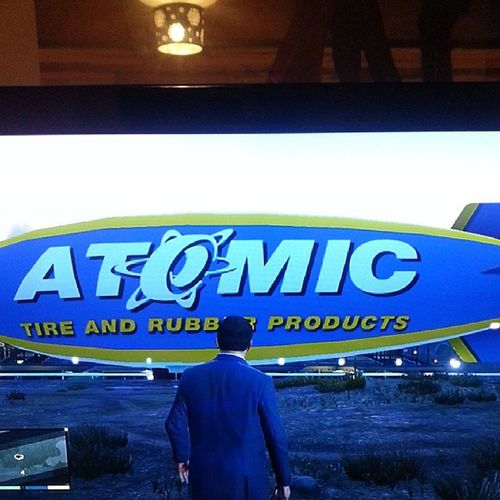 Yeah be-atch, this is how I roll GTAV Gta5 GrandTheftAuto Ps3 Xbox360 Microsoft Sony Rockstar AtomicBlimp Blimp