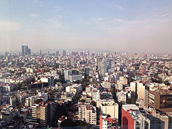 Vista desde el piso 34
