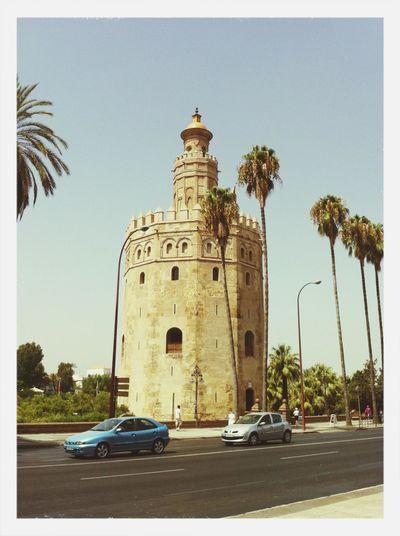 Torre del Oro in Sevilla, Spain.