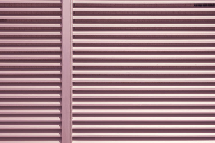Copy Space Architecture Backgrounds Blinds Built Structure Close-up Closed Corrugated Day Full Frame Indoors  Iron Metal No People Pattern Protection Repetition Rosé Safety Security Shutter Striped Textured  Wall - Building Feature Window