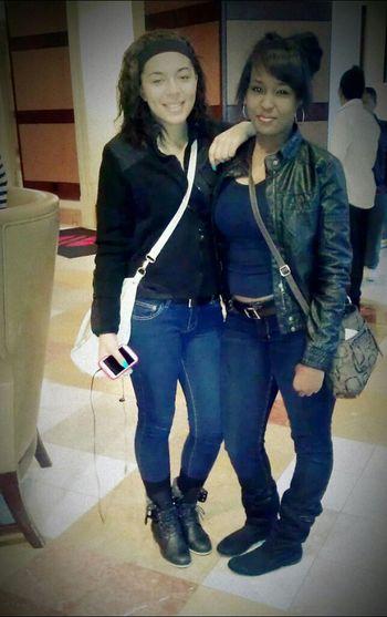my sister @__Bellz & I #FavPic