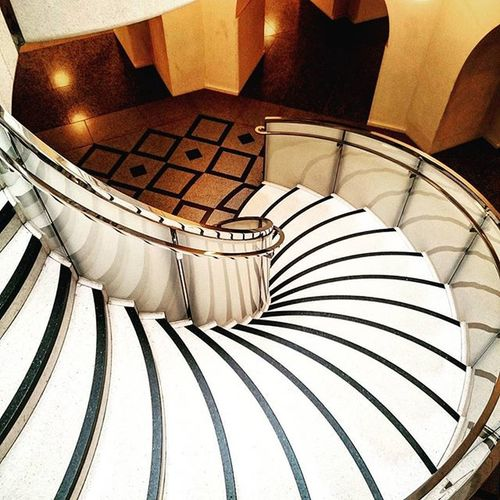 A staircase at Tate Britain.. TateBritain Spiral Staircase Stairs Artgallery Gallery Steps London Millbank Arcitecture ican Capture Snapshot Sony Xperia Z3