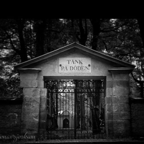Stampen Kyrkogård Graveyard Dod death djup göteborg gothenburg bnw gate foto photo fotonavsjoskum