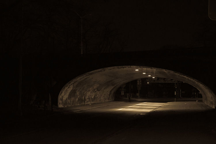 Boston Rd Tunnel, Bronx Zoo, Bronx River Pkwy Boston Rd Bronx Zoo Dark Illuminated Indoors  Night No People Tunnel