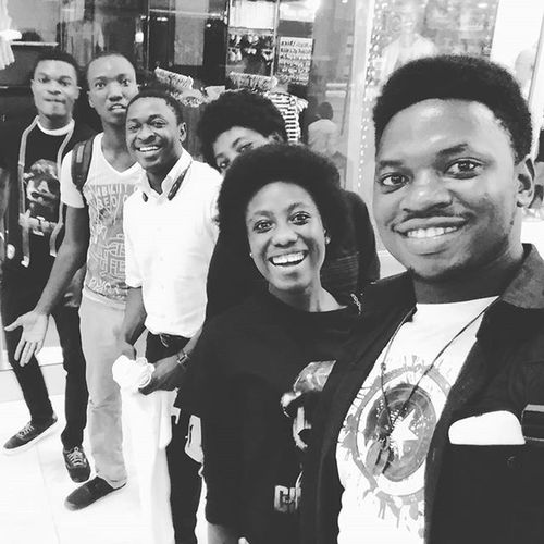 With the cuboids, after the premier of Captain America: Civil War! Loved it to bits!!! Goodmovie Movies Nightout Weekend Accra Ghana2016 Ghana360