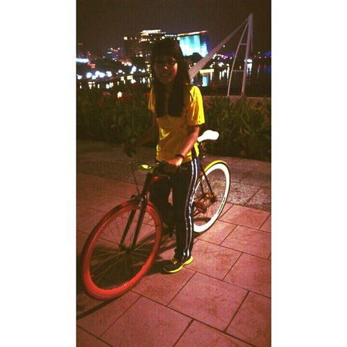 Celebrate Your Ride Night Lights Nightride Night View Ride A Bike  Ride In Style