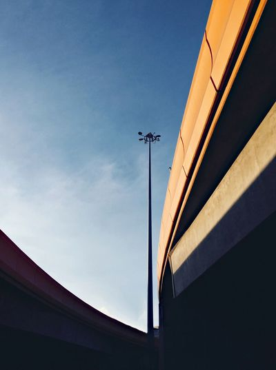 The Journey Is The Destination Fine Art Photography High Low Angle View Still Life No People Outdoors Sky Urban Landscape Cityscapes Light Pole Minimalist Architecture