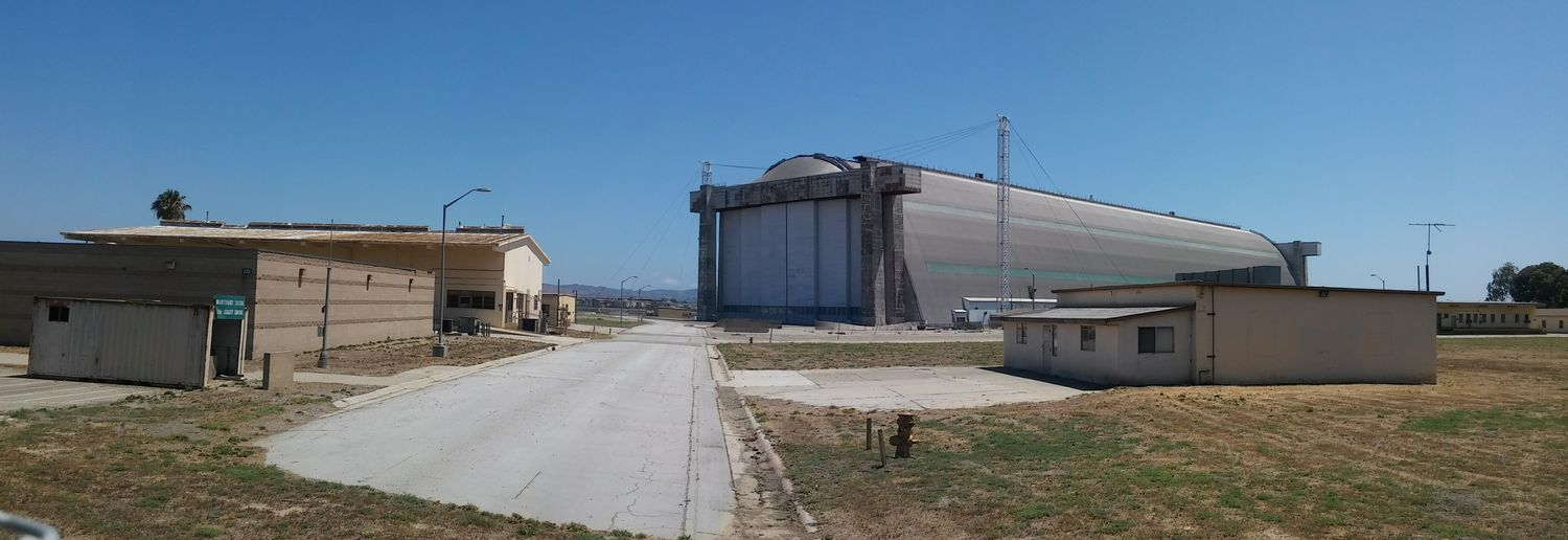 One of the two massive Blimp hangers at the Abandoned Airbase . Abandoned Places Abandoned Buildings Abandoned & Derelict Abandonedbuilding Abandonedporn Abandoned Building Abandonedplaces Abandoned America Military Base Deserted Places Military Airbase Hanger Hanger_collection Deserted Panorama Panoramic Photography Panoramic Landscape Smartphonephotography Smartphone Photography Panoramashot Restricted Area Deserted Scapes