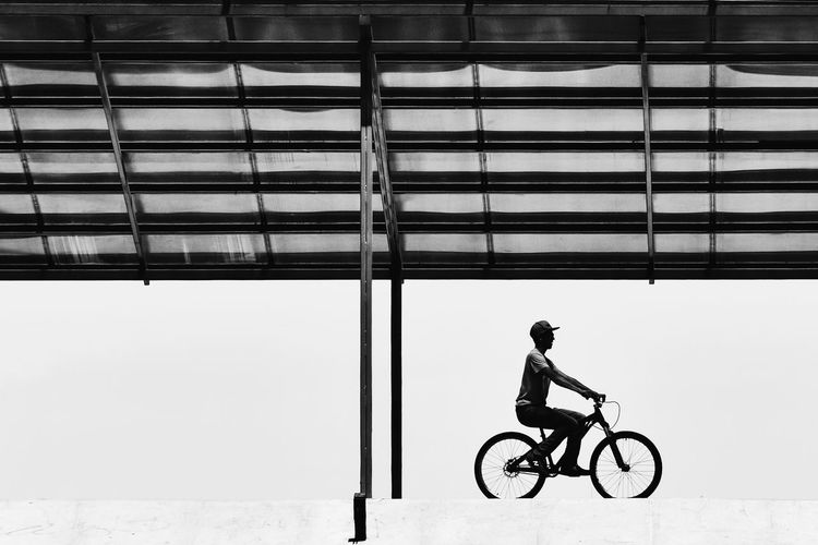 Black & White Street Photography Bicicleta Bycycle