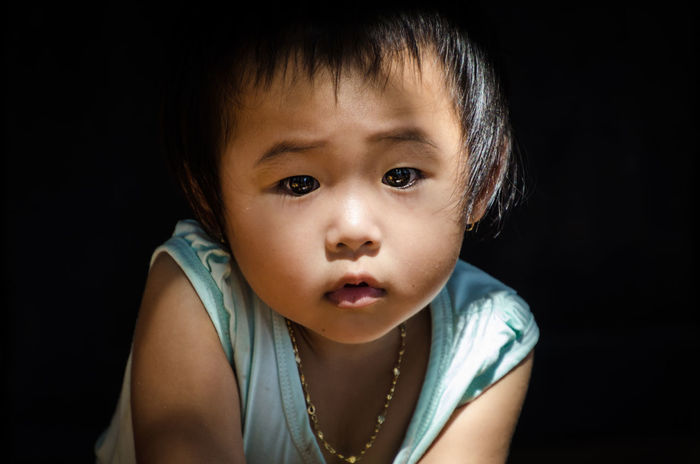 Child Childhood Portrait People One Person World Reisefotografie Reisenmachtspass Backpacking Vietnam Girl Mädchen Vietnamese