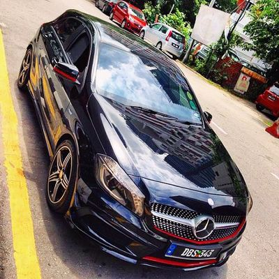 Throwback Mercedes Mercedesbenz Aclass W176 A250 Sport engineered by AMG AclubMalaysia MBSHOOTOUT ClubAKlasse ig_mbenz DBS343