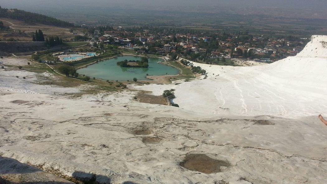 ızmir ❤ Amazing View Turkey Denizli Pamukkale Pamukkale Travertenleri Holiday Trip Manzara Verynice View