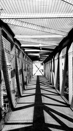 Day Architecture Shadow The Way Forward No People Outdoors Built Structure Bianco E Nero Blancoynegro Blackandwhite Streetphotography Lines Bridge Pont Noir Et Blanc Jour Teintes Blank Street Tranquil Scene Sunlight Exterior Construction TCPM Break The Mold