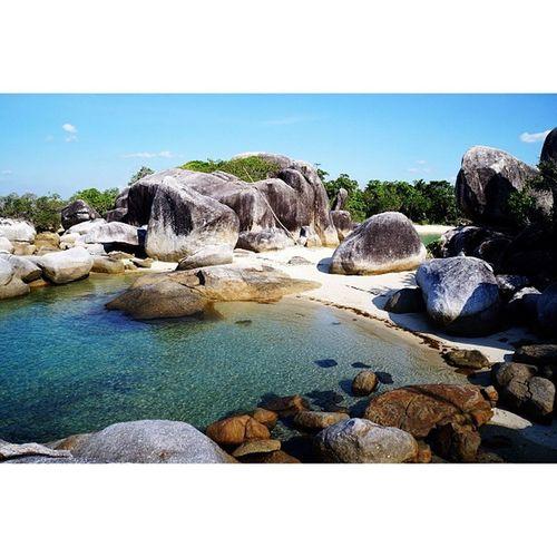 Lagoon Beach Bigstone Amazingindonesia belitung beachporn lagoonporn