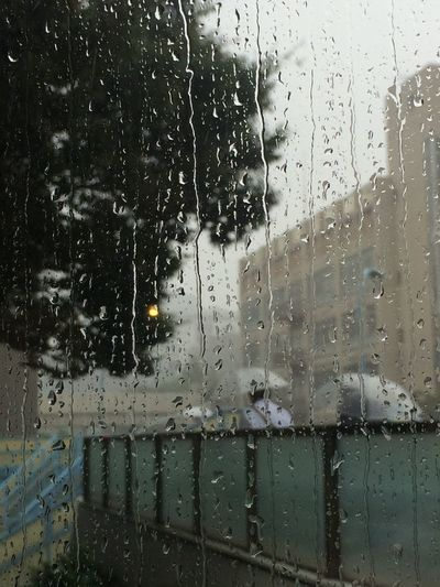 IPhoneography Tokyo Sudden heavy rain