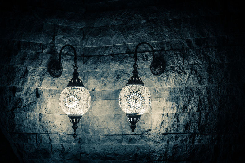 Creativity Light In The Darkness Light And Shadow Aplik Sepia Photography Wallporn Wall Textures Wall Decoration Sconce Sconceporn Indoors  Night