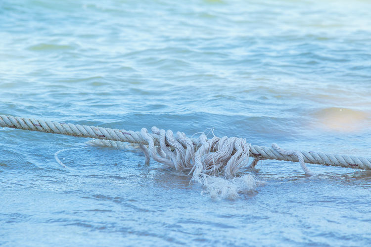 rope of anchor