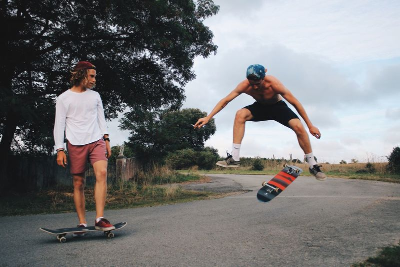 EyeEm Selects Skateboarding Skate Freestyle Sports Friends Outdoors Tricks EyeEmNewHere