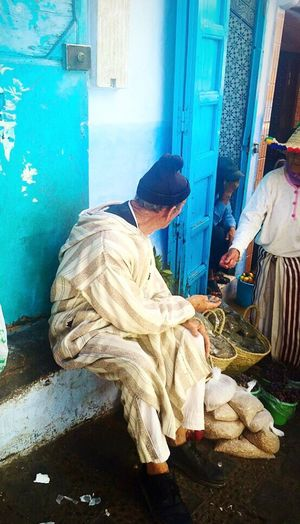 Morocco Bluecity Chefchaouen Streetphotography People Watching People Photography Hello World Travel Photography Walking Around People Are People