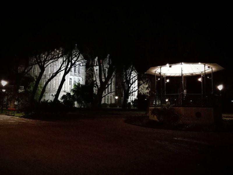Walk The Dog (Gin) at Night Nightphotography Oeste EyeEmNewHere Caldas Da Rainha WalkwithGod Landscape Termal Jardim Winter Calm Air Nature Nature_collection Nopeople Coreto P9lite Lake Night GIN Termas Garden Tree Colour Your Horizn