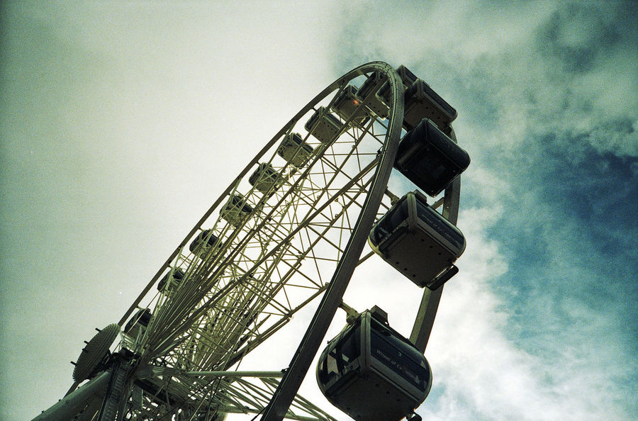 Amusement Park Architecture Arts Culture And Entertainment Built Structure Cape Town Communication Connection Development Electricity  Ferris Wheel Fun Fun Fair Low Angle View Metal Metallic Night Observation Wheel Spinning Spinning Around Structure Technology Tourist Attraction  Tower